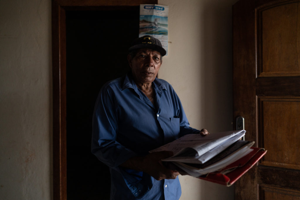 Nelson Bispo Dos Santos: a prisoner in 2017 accused of selling lots within the land Uru-Eu-Wau-Wau.