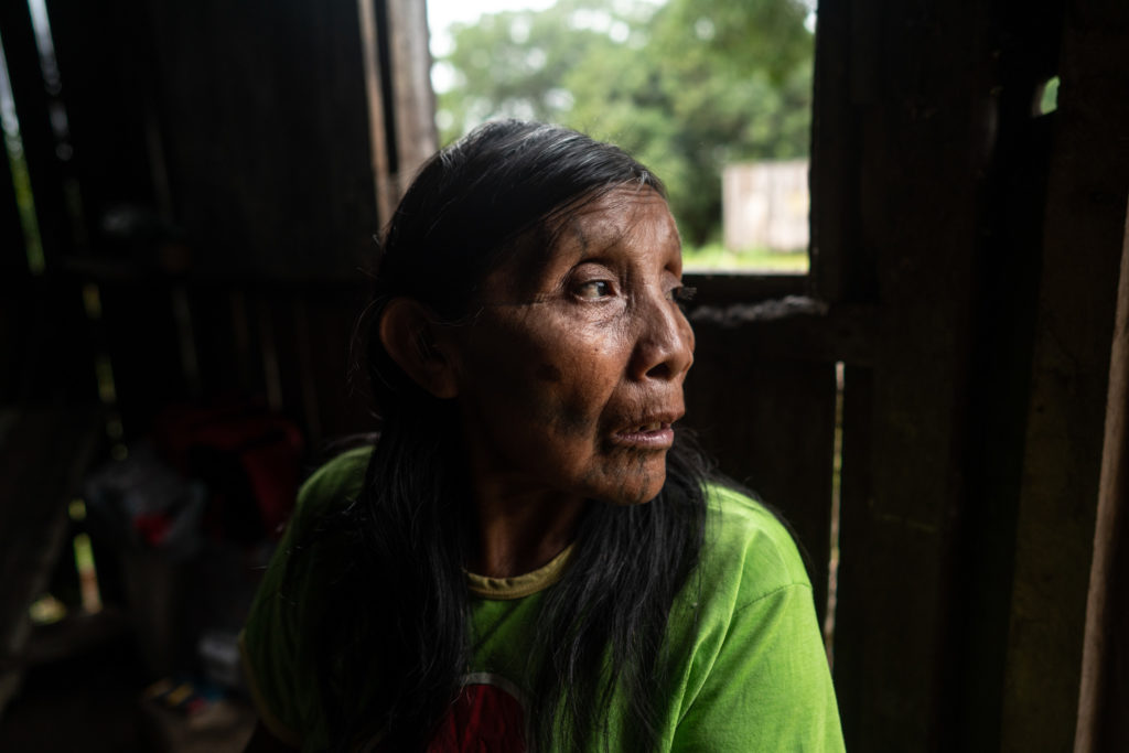 Katziká, mother of the leader André Karipuna, feared the worst when her son disappeared in September of 2018.